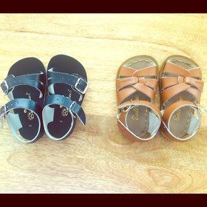 Salt waters & See waters infant sandals